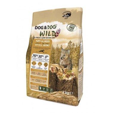 GHEDA Dog&Dog Wild Natural Instinct pour Chiots de toutes Tailles