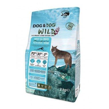GHEDA Dog&Dog Wild Regional Ocean pour Chiens Adultes de toutes Tailles