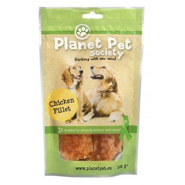 Planet Pet Society friandise filets de poulet pour chien