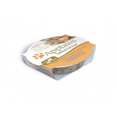 Applaws pots de 60gr en bouillon pour chat adulte - 4 recettes