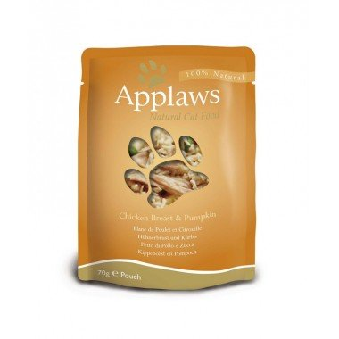 Applaws sachets de 70gr en bouillon pour chat adulte - 6 recettes