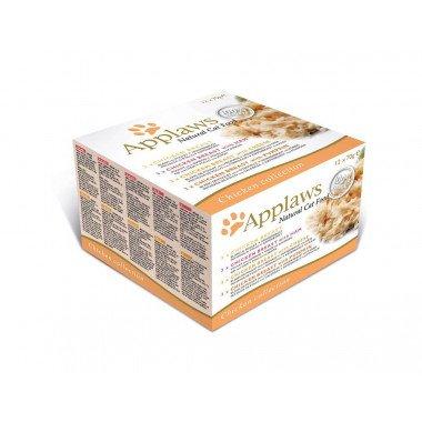 Applaws multipack boîtes 12x70gr pour chat adulte - 3 choix