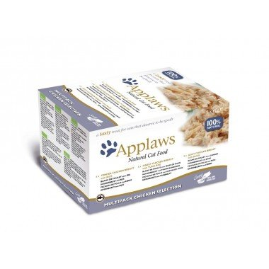 Applaws multipack pots 8x60gr pour chat adulte - 2 choix