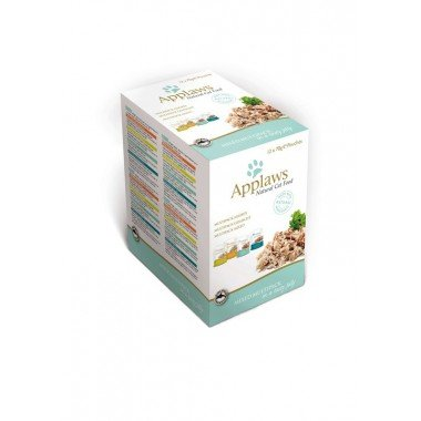 Applaws multipack sachets 12x70gr en gelée pour chat adulte