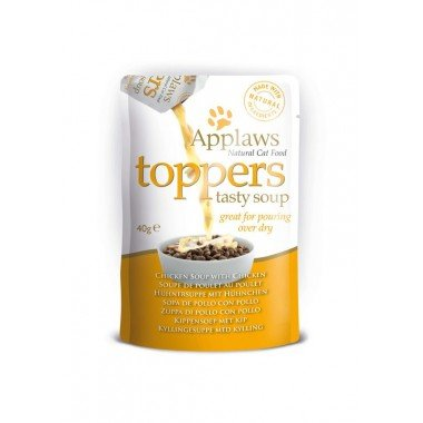 Applaws toppers (soupe) 3x40gr pour chat adulte - 3 recettes