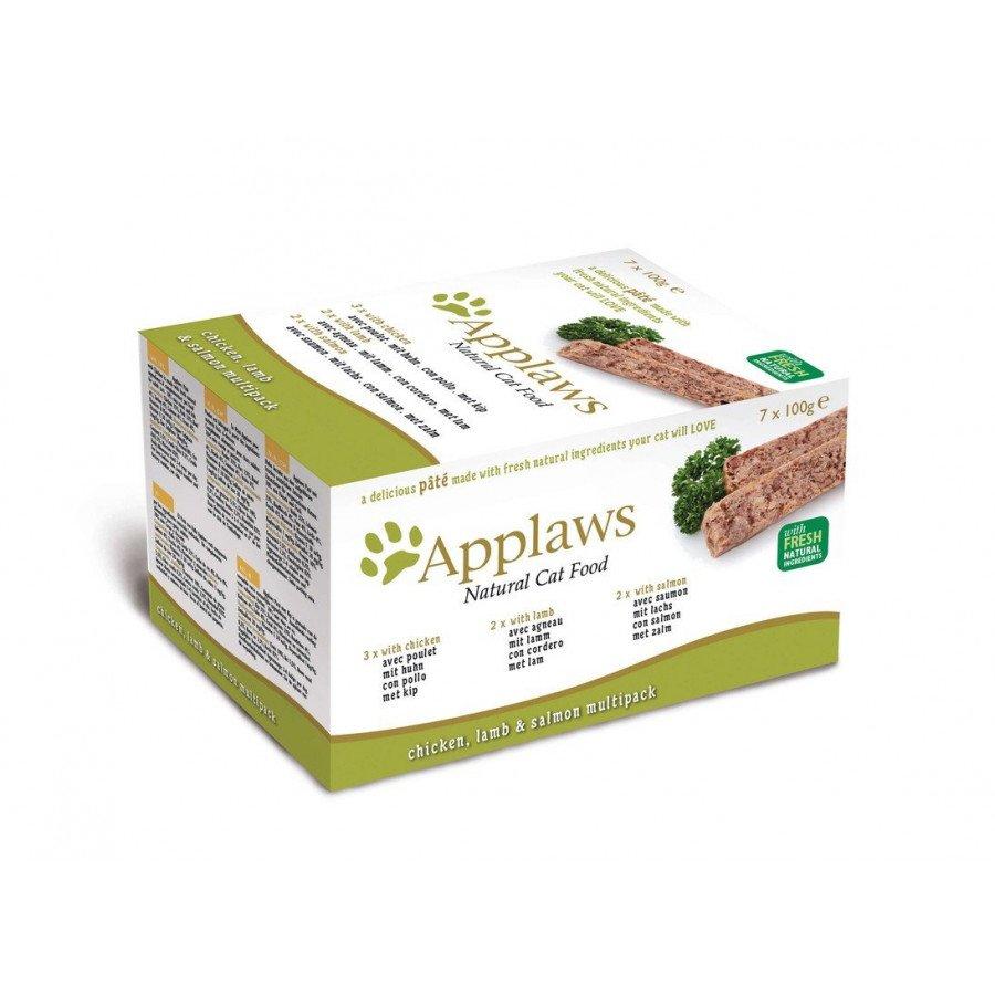 Applaws multipack pâtées 7x100gr pour chat adulte - 2 choix