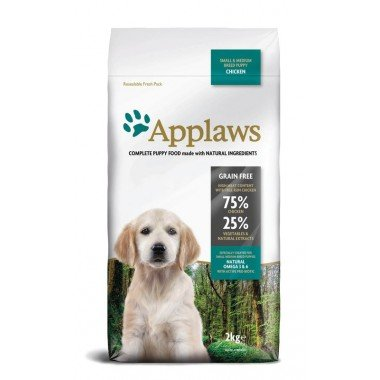 Applaws grain free poulet pour chiot small/medium