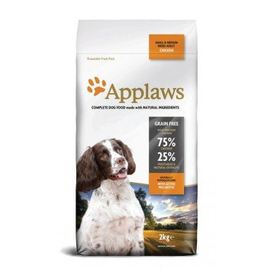 Applaws grain free poulet pour chien adulte small/medium