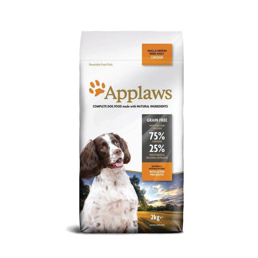 Applaws grain free poulet pour chien adulte small/medium