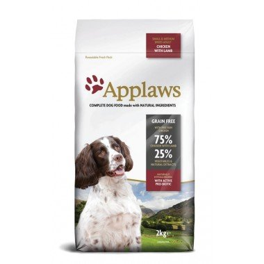 Applaws grain free poulet & agneau pour chien adulte small/medium