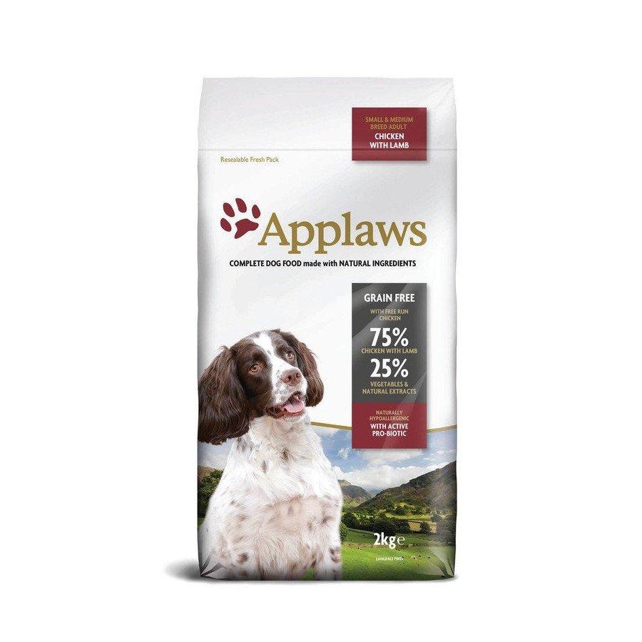 Applaws grain free poulet & agneau pour chien adulte small/medium