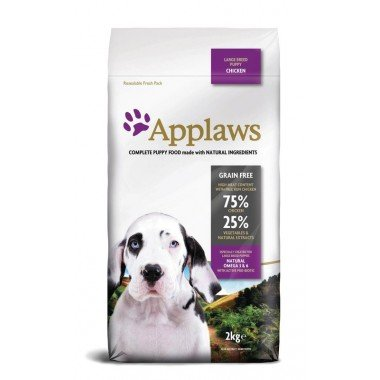 Applaws grain free poulet pour chiot large