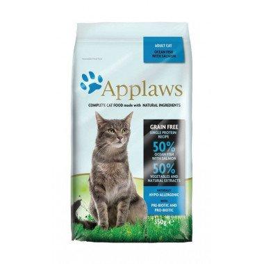 Applaws grain free poisson de l'océan/saumon pour chat adulte