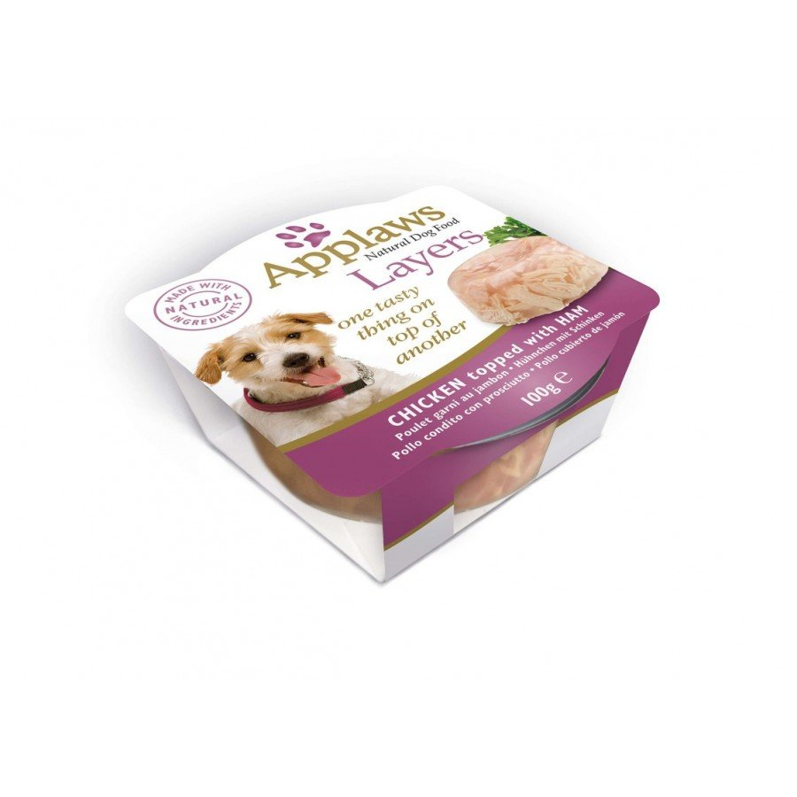 Applaws layers de 100gr en gelée pour chien adulte - 3 recettes
