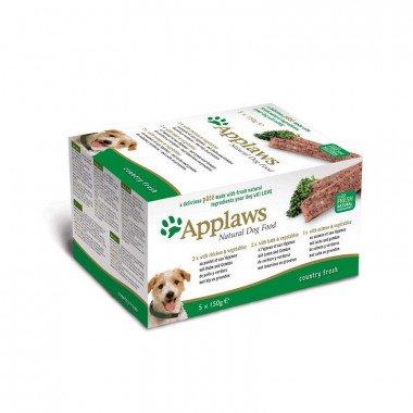 Applaws multipack pâtées 5x150gr pour chien adulte - 2 choix