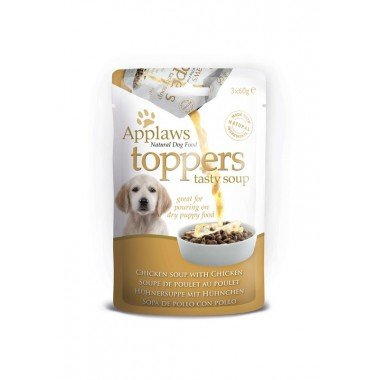 Applaws toppers (soupe) 3x60gr pour chiot