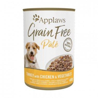 Applaws boîtes de 400gr de pâtée pour chien adulte - 3 recettes