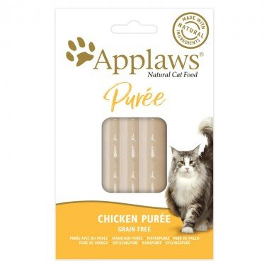 Applaws friandise purée au poulet pour chat