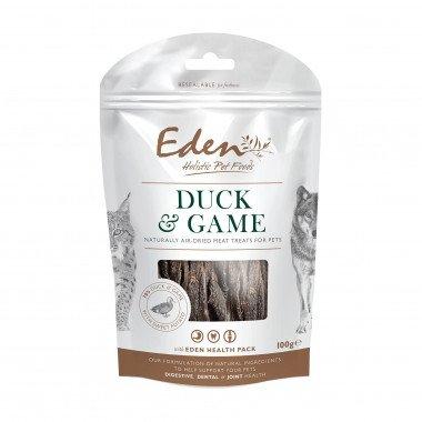 Eden friandises naturelles canard & gibier (chiens et chats) 100gr