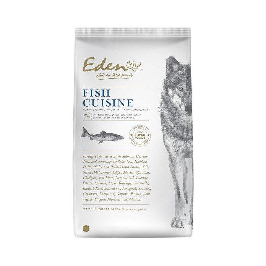 Eden 80/20 fish cuisine (chiots, chiens adultes et seniors)