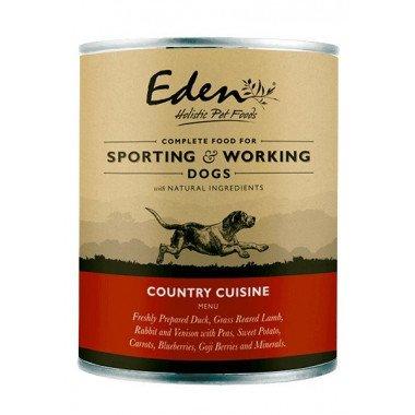 Eden boîte de pâté Country cuisine (chiens adultes)