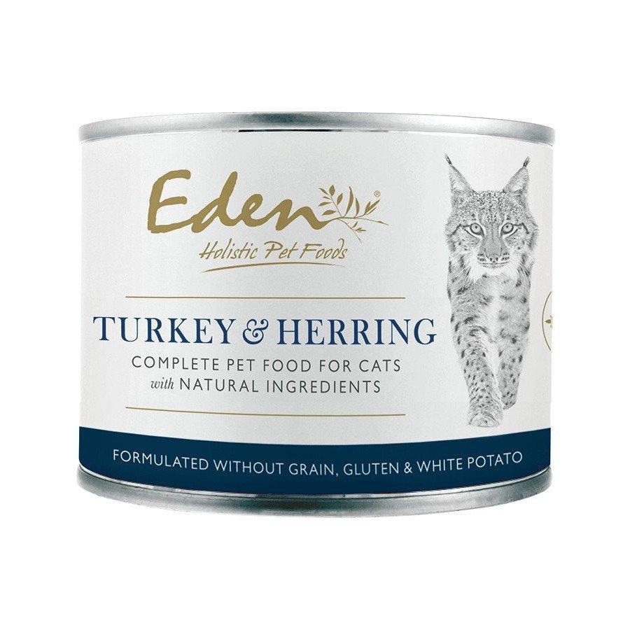 Eden boîte de pâté Turkey herring (chats adultes)