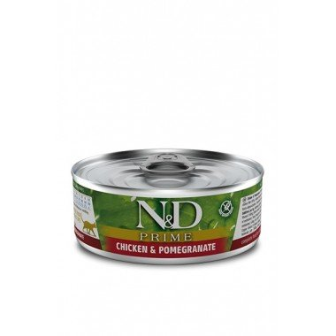 N&D humide poulet, grenade (chat)