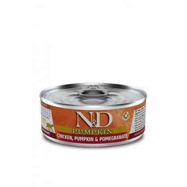 N&D Potiron humide poulet, grenade, potiron (chat)