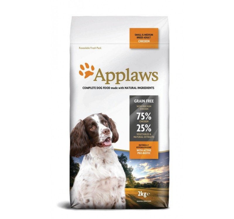 Applaws Grain Free au poulet pour chien adulte Small et Medium